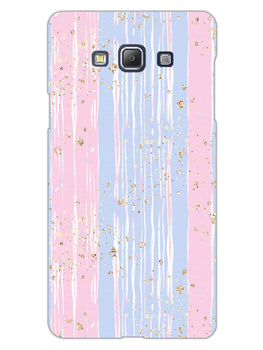 Pink And Blue Shade Lines Samsung Galaxy A5 2015 Mobile Cover Case
