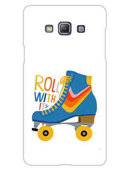 Roller Skate Play With Fun Samsung Galaxy A5 2015 Mobile Cover Case