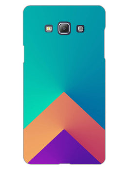 Triangular Shapes Samsung Galaxy A5 2015 Mobile Cover Case