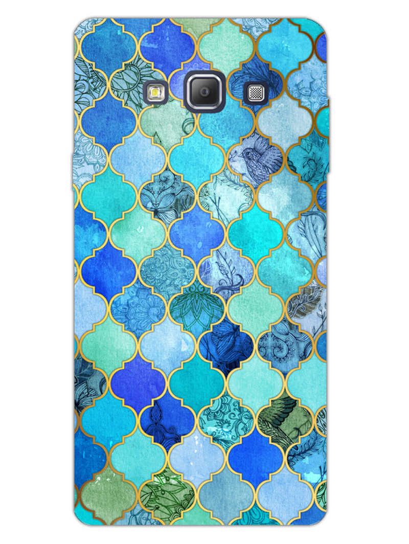 Morroccan Pattern Samsung Galaxy A7 2015 Mobile Cover Case