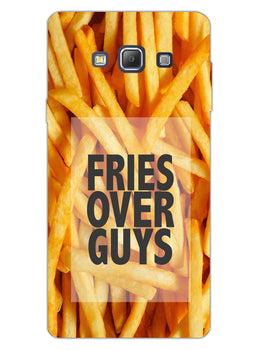 Fries Over Guys Samsung Galaxy A7 2015 Mobile Cover Case
