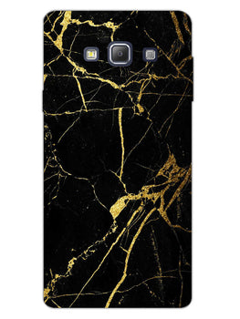 Classy Black Marble Samsung Galaxy A7 2015 Mobile Cover Case