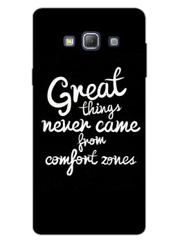 Comfort Zone Gyaan Samsung Galaxy A7 2015 Mobile Cover Case
