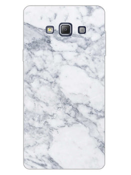 Chic White Marble Samsung Galaxy A7 2015 Mobile Cover Case