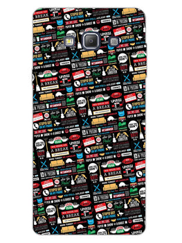 FRIENDS Samsung Galaxy A7 2015 Mobile Cover Case