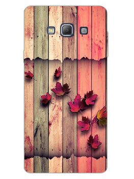 Color Wood Samsung Galaxy A7 2015 Mobile Cover Case