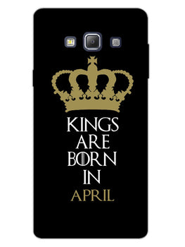 Kings April Samsung Galaxy A7 2015 Mobile Cover Case