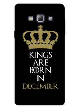 Kings December Samsung Galaxy A7 2015 Mobile Cover Case