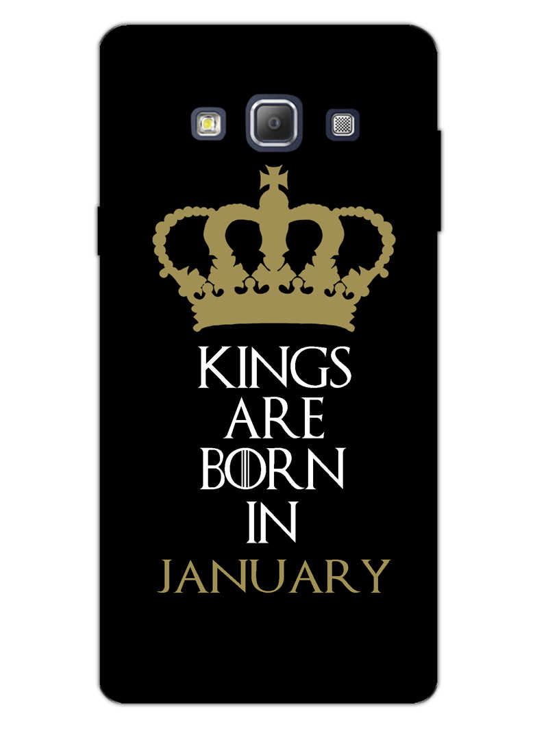 Kings January Samsung Galaxy A7 2015 Mobile Cover Case