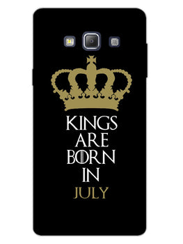 Kings July Samsung Galaxy A7 2015 Mobile Cover Case