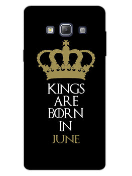 Kings June Samsung Galaxy A7 2015 Mobile Cover Case