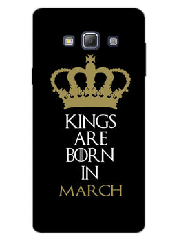 Kings March Samsung Galaxy A7 2015 Mobile Cover Case