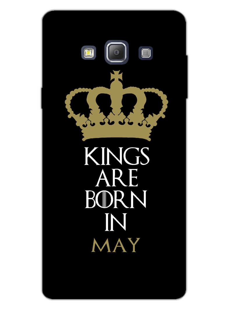 Kings May Samsung Galaxy A7 2015 Mobile Cover Case - MADANYU