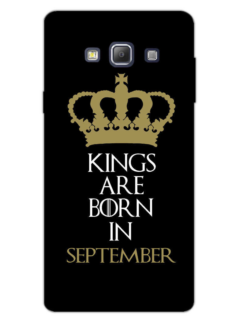 Kings September Samsung Galaxy A7 2015 Mobile Cover Case