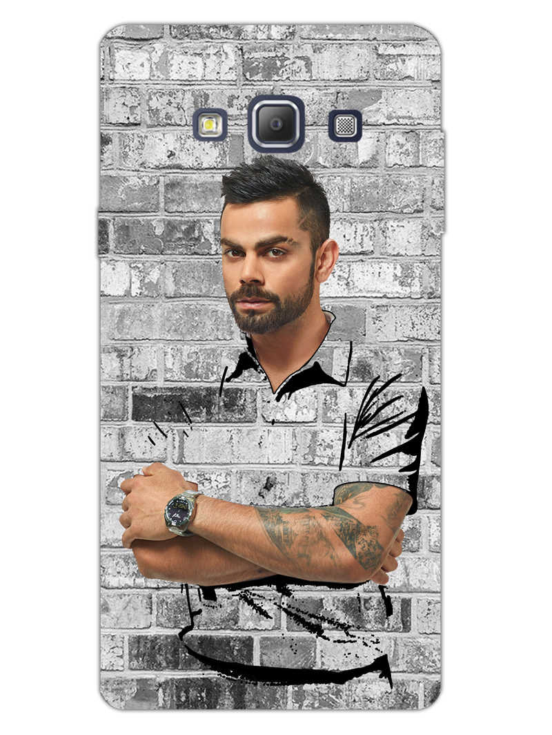 The Wall Of Kohli Samsung Galaxy A7 2015 Mobile Cover Case - MADANYU