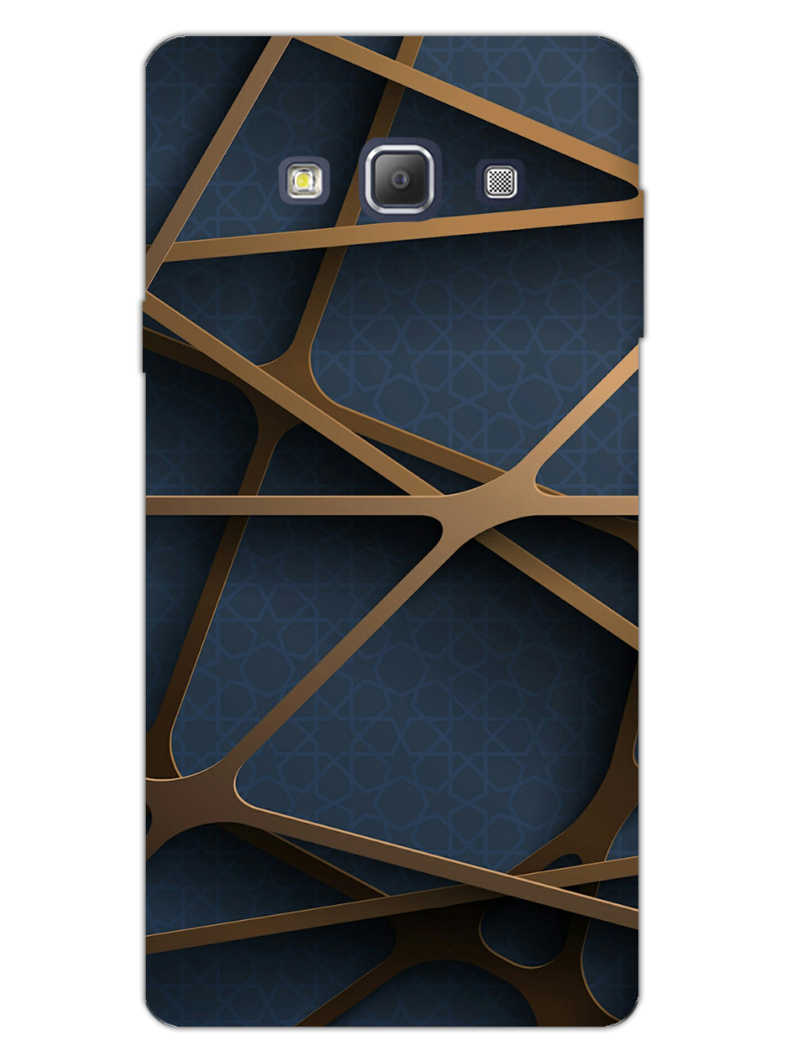 Random Geometry Samsung Galaxy A7 2015 Mobile Cover Case