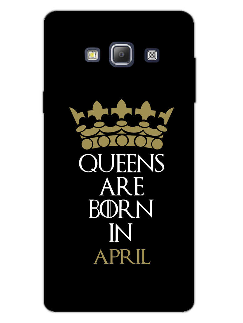 Queens April Samsung Galaxy A7 2015 Mobile Cover Case - MADANYU