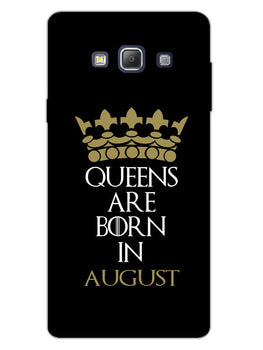Queens August Samsung Galaxy A7 2015 Mobile Cover Case
