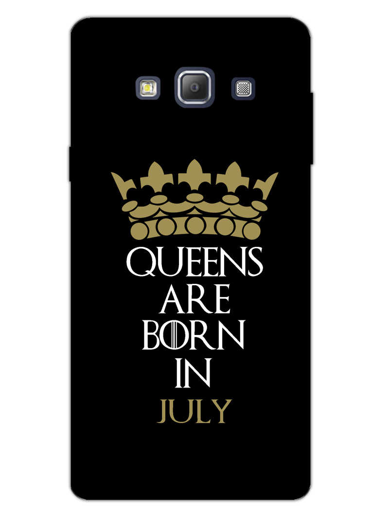 Queens July Samsung Galaxy A7 2015 Mobile Cover Case