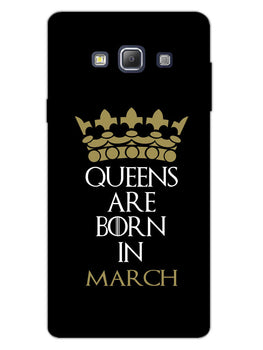 Queens March Samsung Galaxy A7 2015 Mobile Cover Case