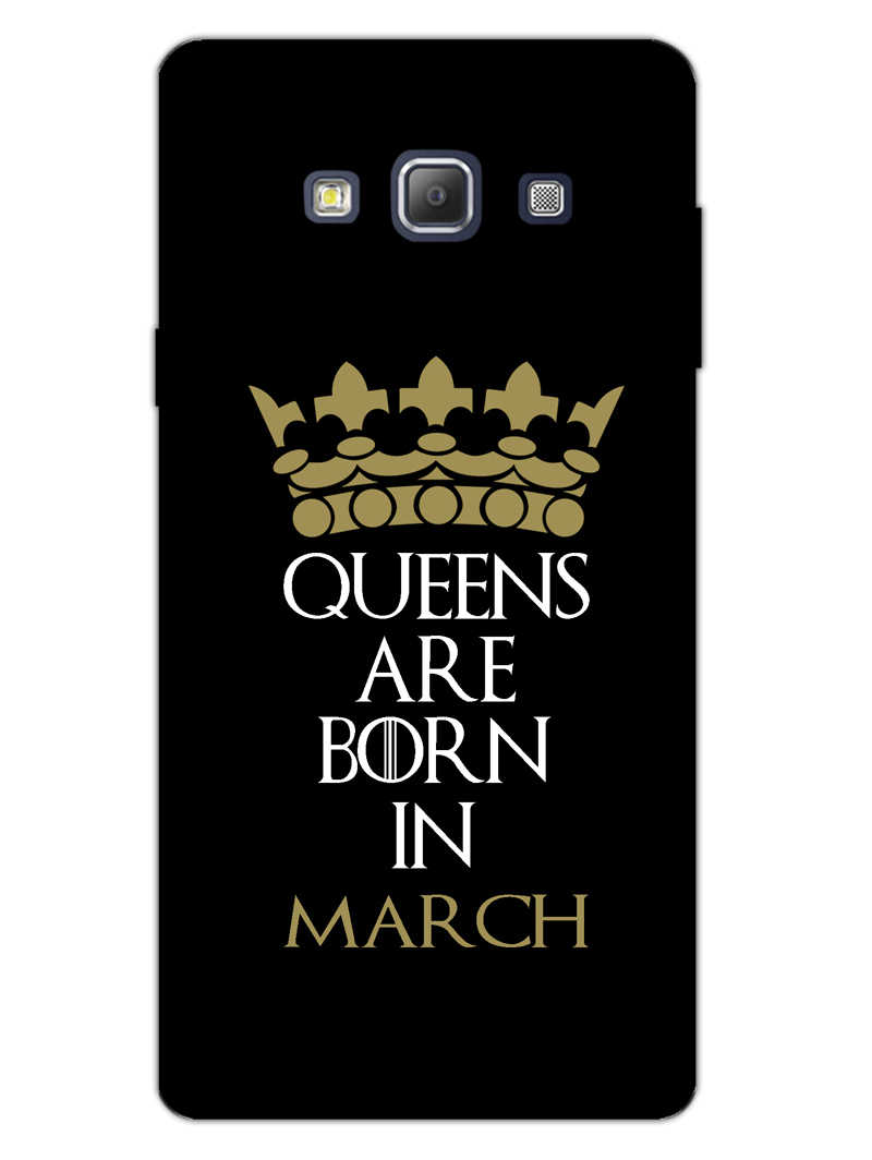 Queens March Samsung Galaxy A7 2015 Mobile Cover Case - MADANYU