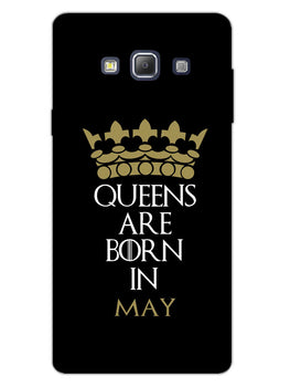 Queens May Samsung Galaxy A7 2015 Mobile Cover Case