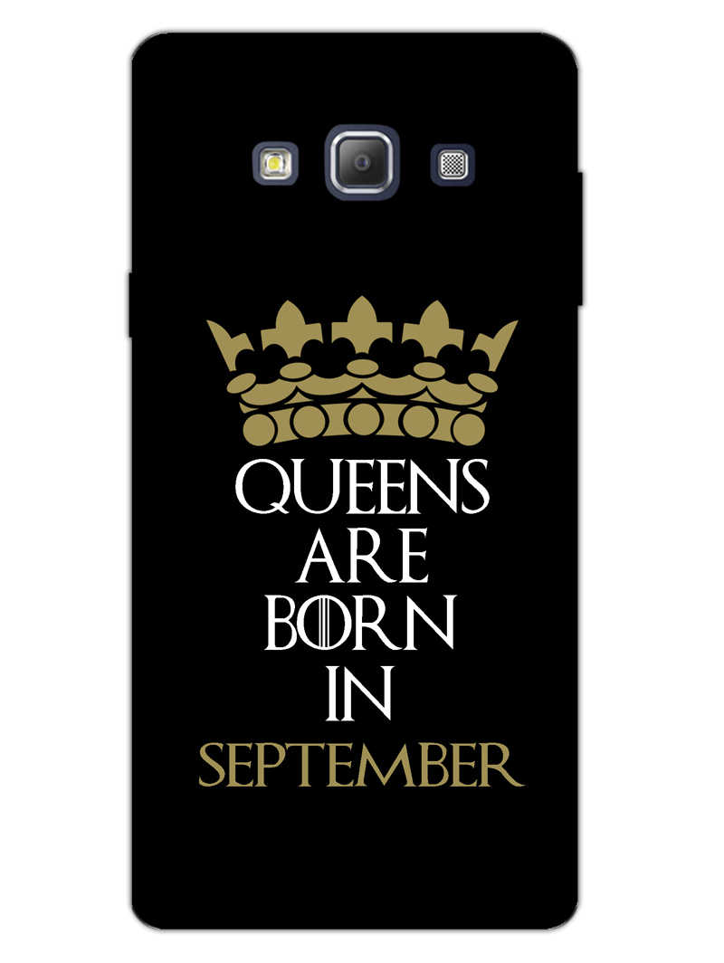 Queens September Samsung Galaxy A7 2015 Mobile Cover Case