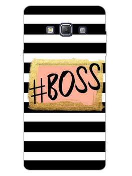 The Boss Samsung Galaxy A7 2015 Mobile Cover Case