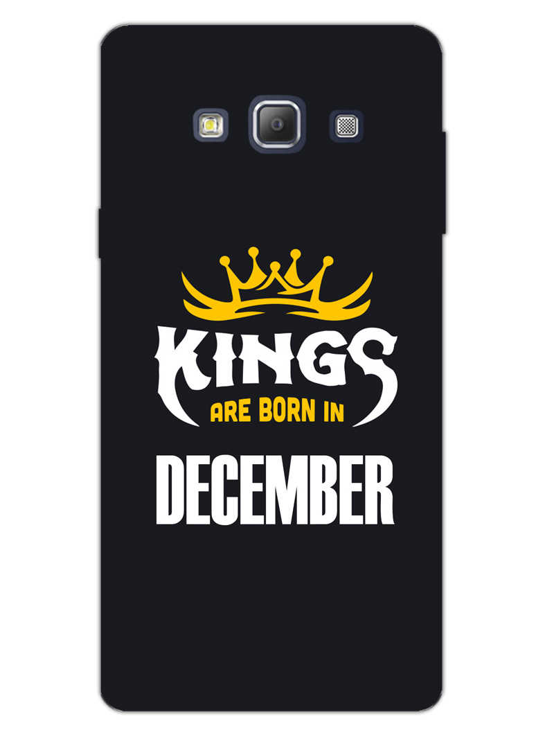 Kings December - Narcissist Samsung Galaxy A7 2015 Mobile Cover Case