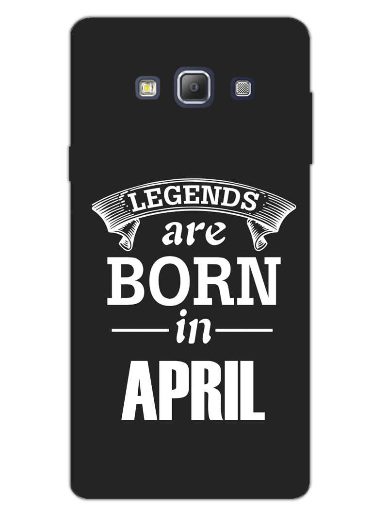 Legends April Samsung Galaxy A7 2015 Mobile Cover Case
