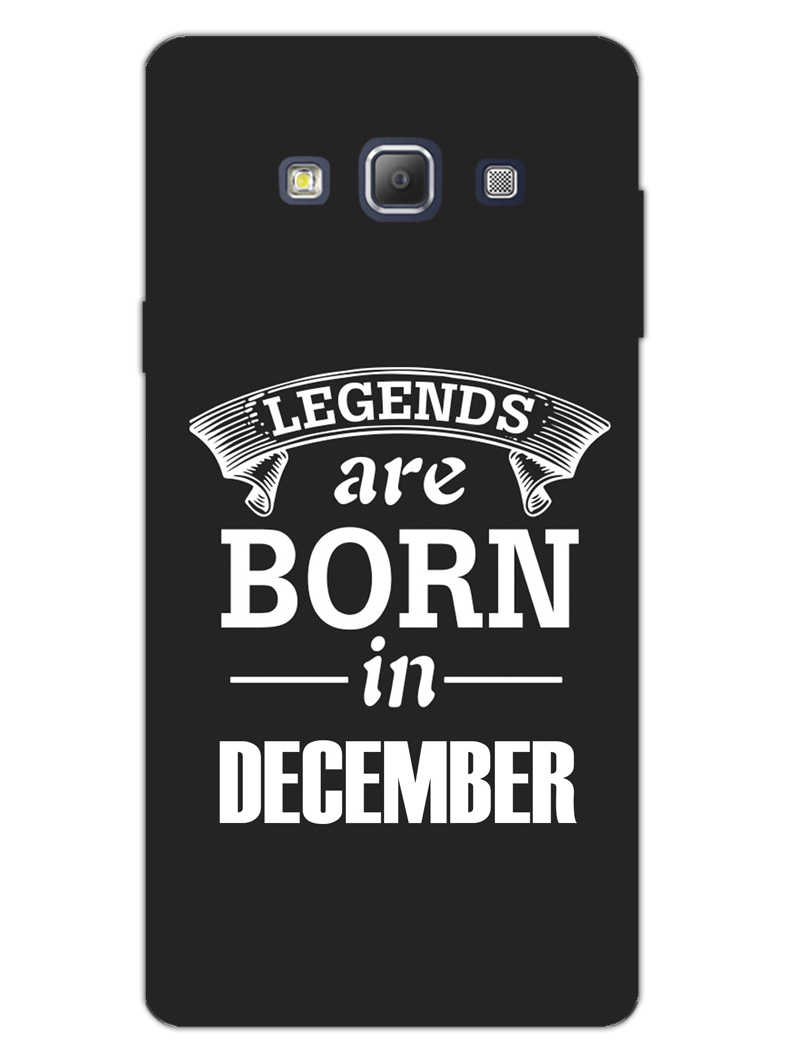 Legends December Samsung Galaxy A7 2015 Mobile Cover Case - MADANYU