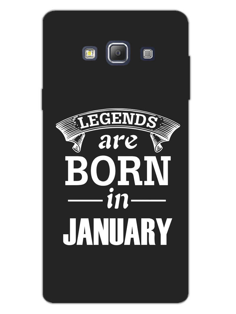Legends January Samsung Galaxy A7 2015 Mobile Cover Case