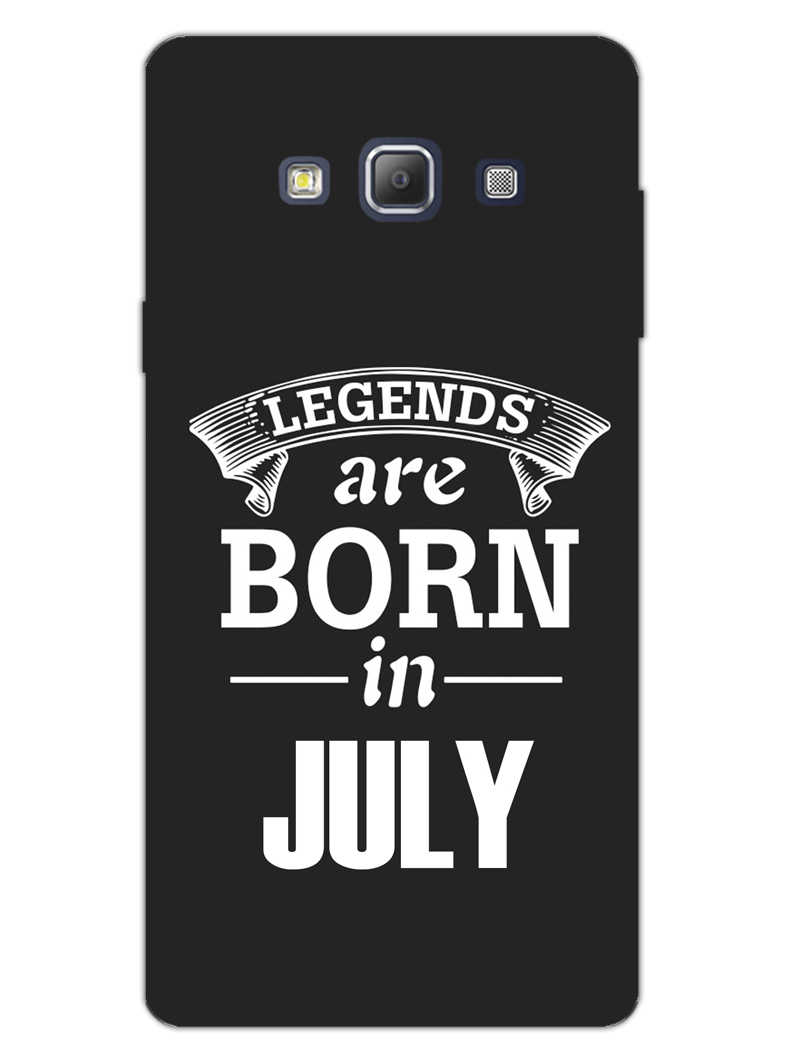 Legends July Samsung Galaxy A7 2015 Mobile Cover Case