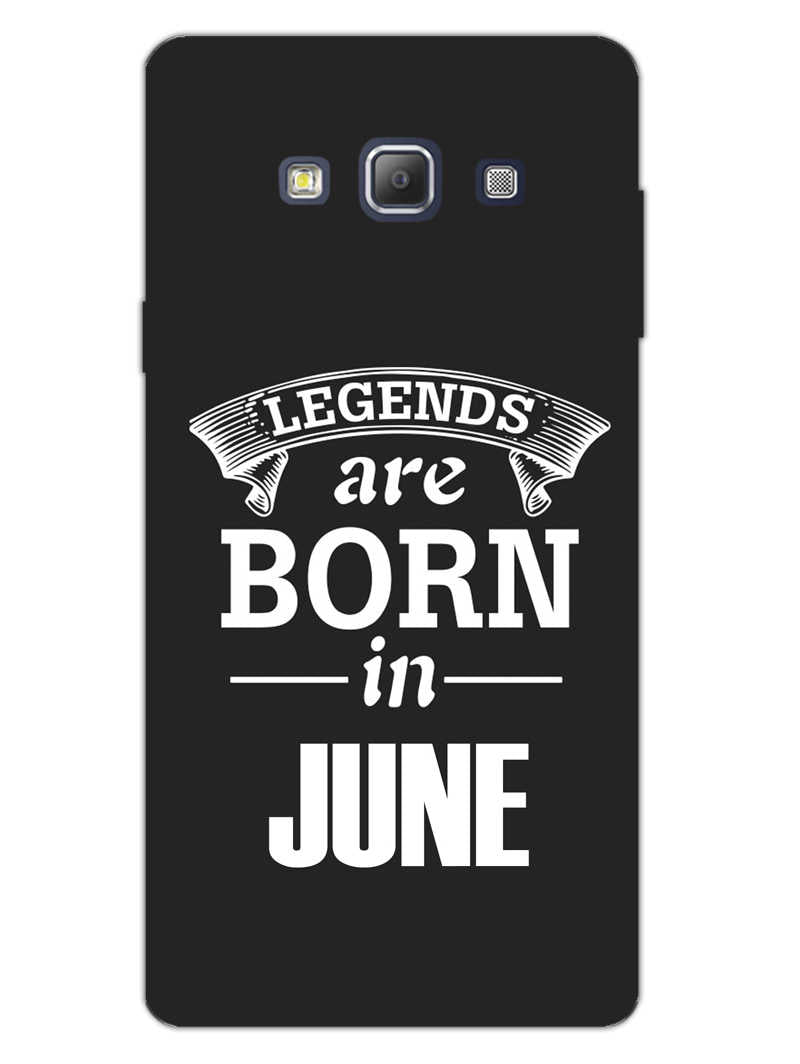 Legends June Samsung Galaxy A7 2015 Mobile Cover Case - MADANYU