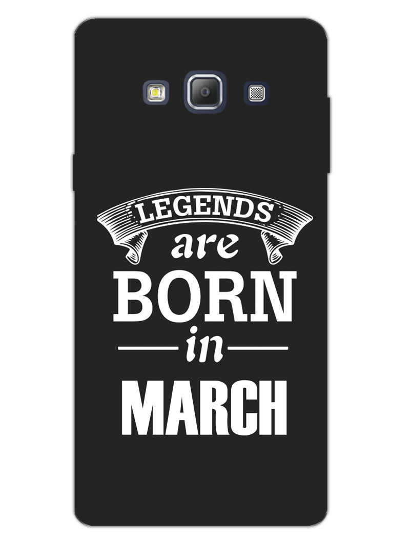 Legends March Samsung Galaxy A7 2015 Mobile Cover Case