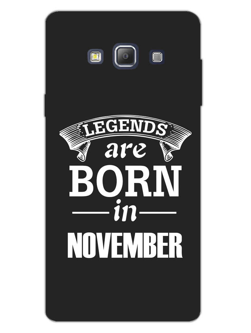 Legends November Samsung Galaxy A7 2015 Mobile Cover Case - MADANYU