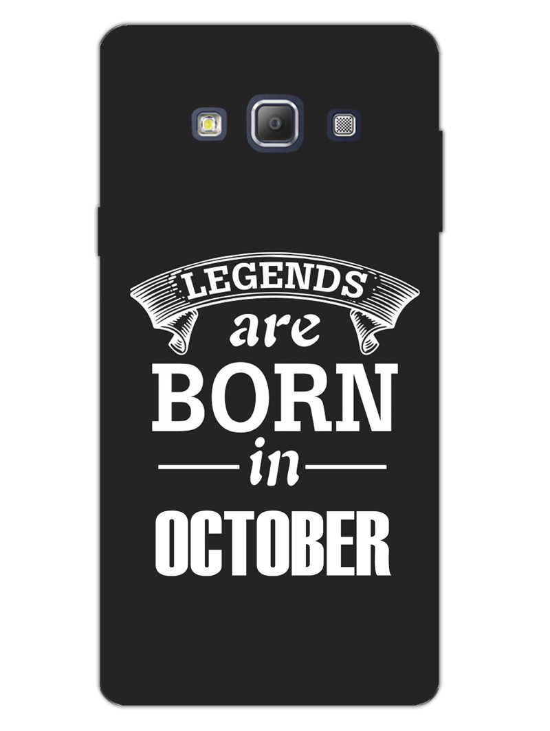 Legends October Samsung Galaxy A7 2015 Mobile Cover Case