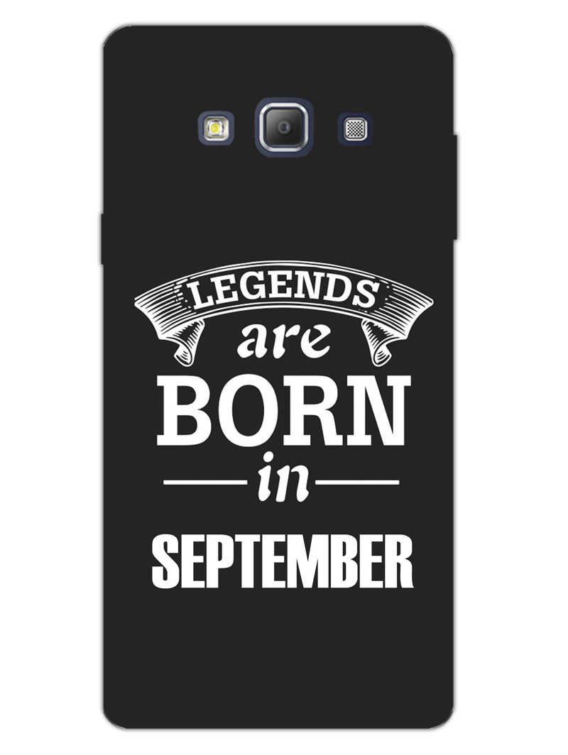 Legends September Samsung Galaxy A7 2015 Mobile Cover Case