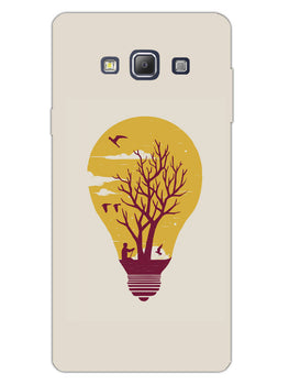 Live Life With Nature Samsung Galaxy A7 2015 Mobile Cover Case