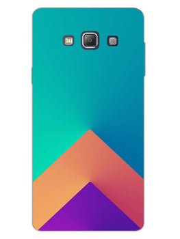 Triangular Shapes Samsung Galaxy A7 2015 Mobile Cover Case