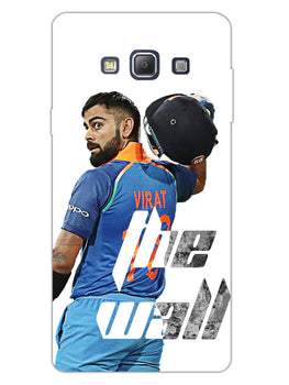 Kohli The Wall Cricket Lover Samsung Galaxy A7 2015 Mobile Cover Case