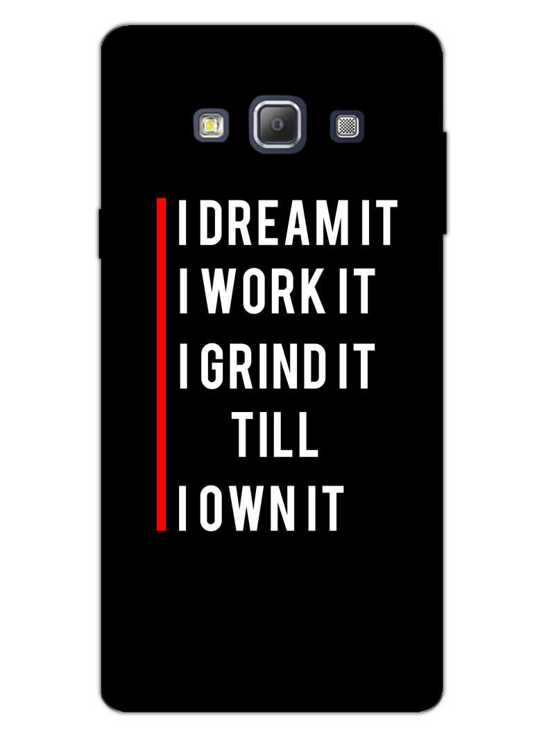 Morning Motivation Samsung Galaxy A7 2015 Mobile Cover Case