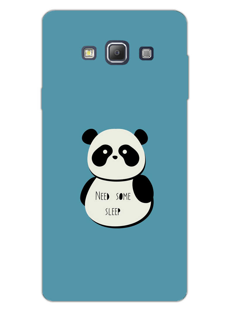 Sleepy Panda Samsung Galaxy A7 2015 Mobile Cover Case