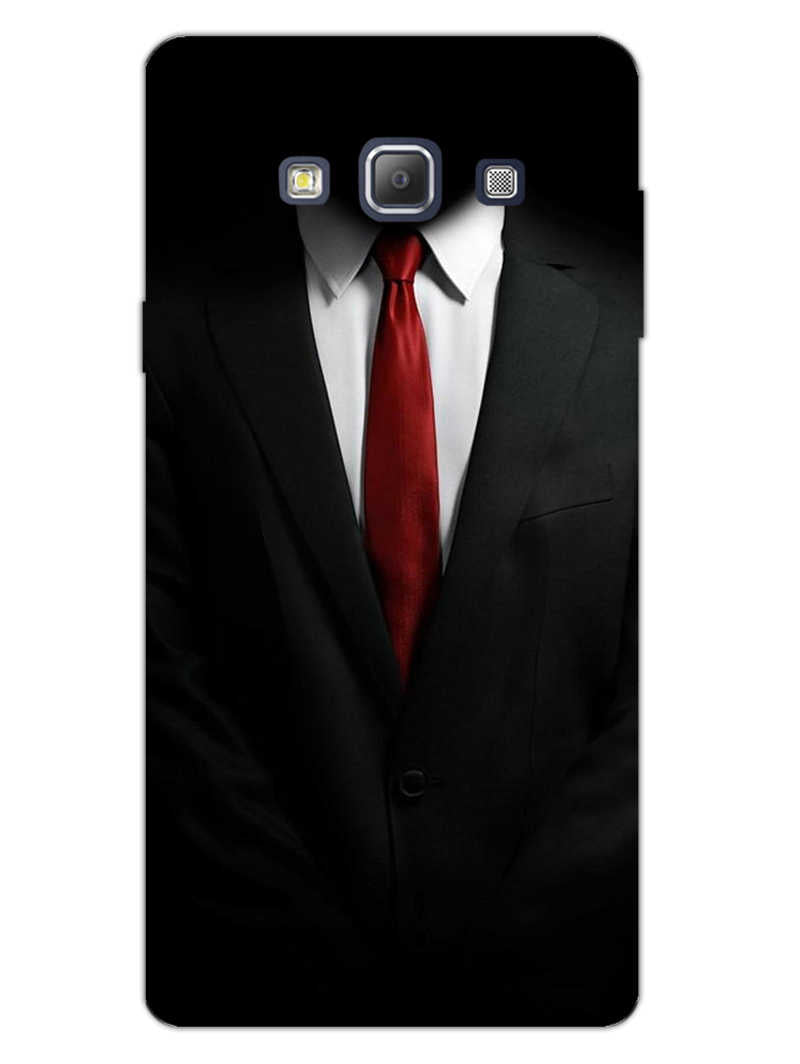 Suit Up Samsung Galaxy A7 2015 Mobile Cover Case - MADANYU