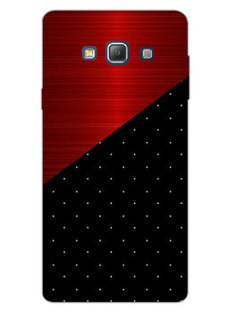 Polka Dots On Wood Samsung Galaxy A7 2015 Mobile Cover Case
