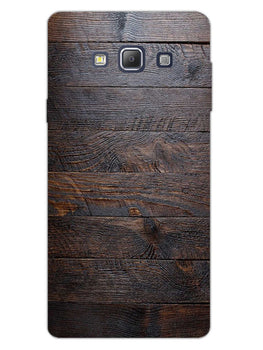 Wooden Wall Samsung Galaxy A7 2015 Mobile Cover Case