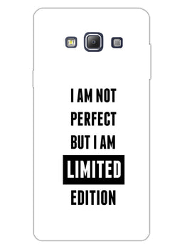I Am Limited Edition Samsung Galaxy A7 2015 Mobile Cover Case