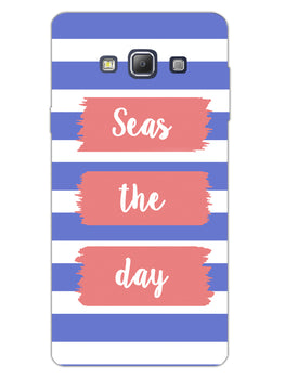 Seas The Day Samsung Galaxy A7 2015 Mobile Cover Case