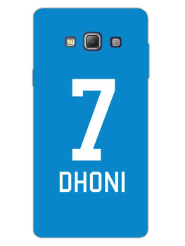 Dhoni Jersey Samsung Galaxy A7 2015 Mobile Cover Case