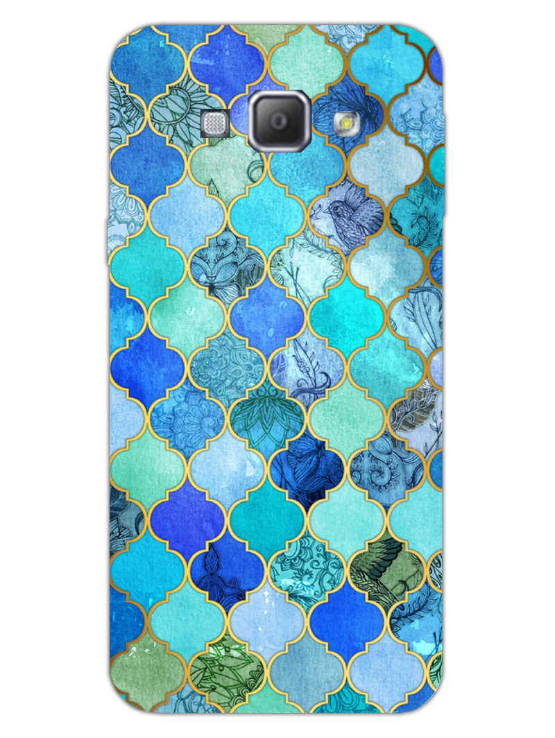 Morroccan Pattern Samsung Galaxy A8 2015 Mobile Cover Case